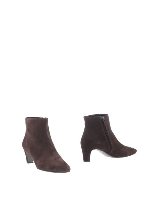 Roberto Del Carlo - Brown Ankle Boots - Lyst