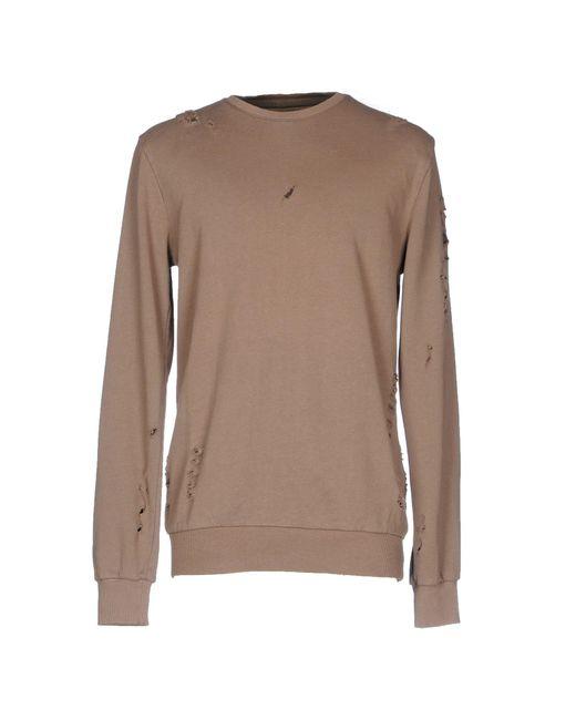 Criminal Damage - Brown Sweatshirt for Men - Lyst