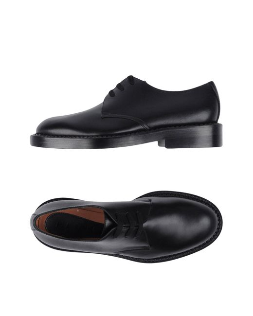 Marni - Black Lace-up Shoe for Men - Lyst