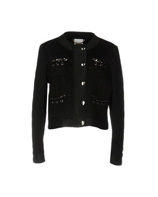Moschino - Black Jackets - Lyst