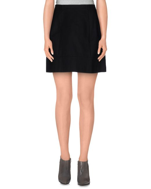 Miss Sixty - Black Mini Skirt - Lyst