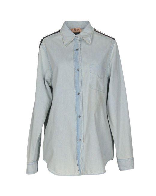 N°21 | Blue Denim Shirt | Lyst