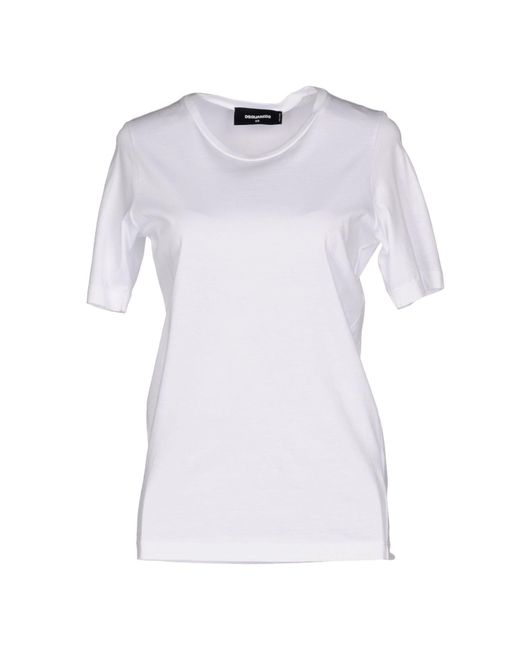 DSquared² - White T-shirts - Lyst