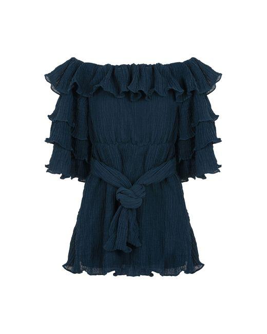 C/meo Collective Blue Short Dress