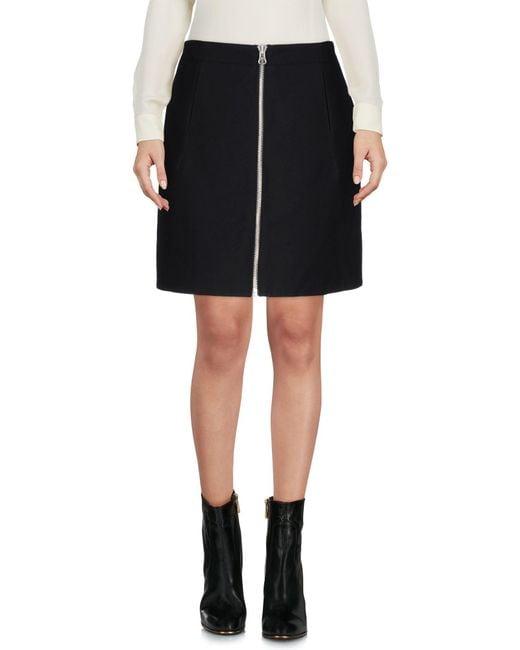 Opening Ceremony - Black Mini Skirt - Lyst