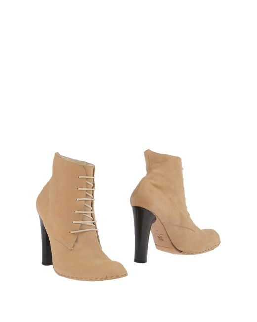 Collection Privée - Natural ? Ankle Boots - Lyst