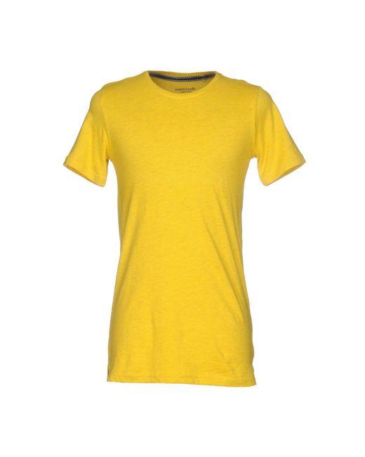 Anerkjendt   Yellow T-shirt for Men   Lyst