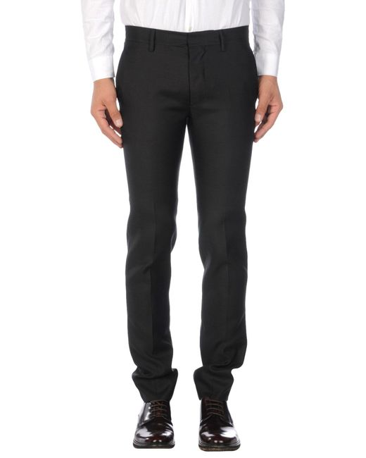 DSquared² - Black Casual Pants for Men - Lyst