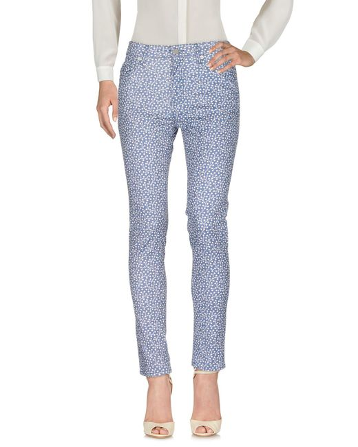 French Connection | Blue Casual Pants | Lyst