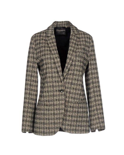 Erika Cavallini Semi Couture - Black Blazer - Lyst