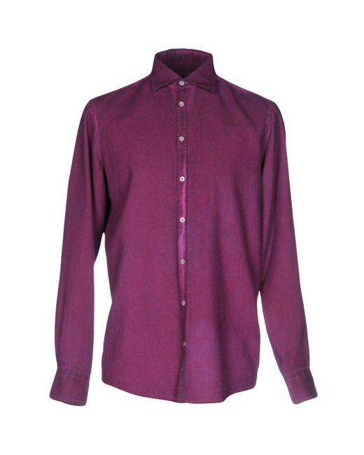 Massimo Alba | Purple Shirt for Men | Lyst