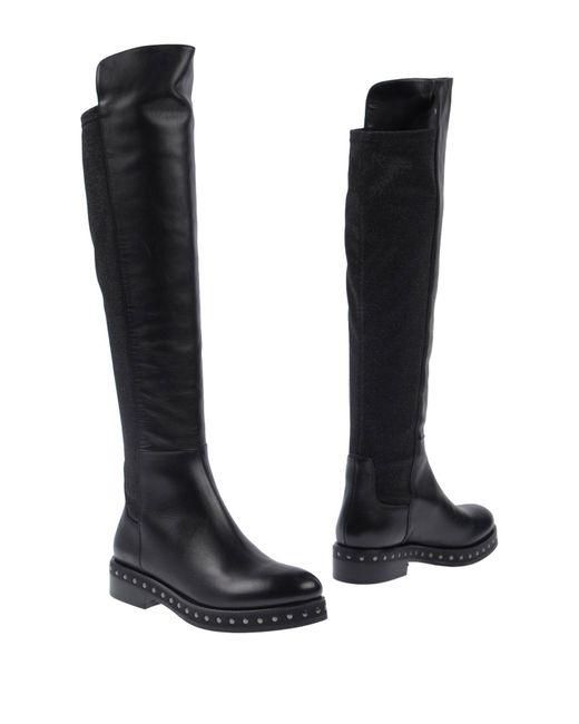Alberto Gozzi - Black Boots - Lyst