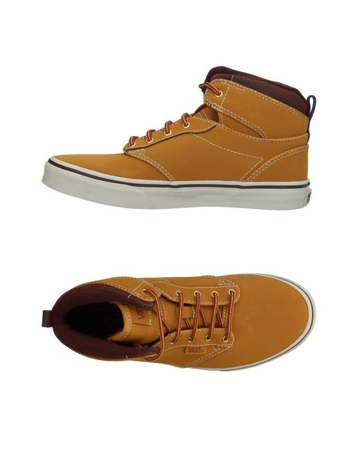 d221e155bc58d6 Vans High-tops   Sneakers in Brown for Men - Save 15% - Lyst
