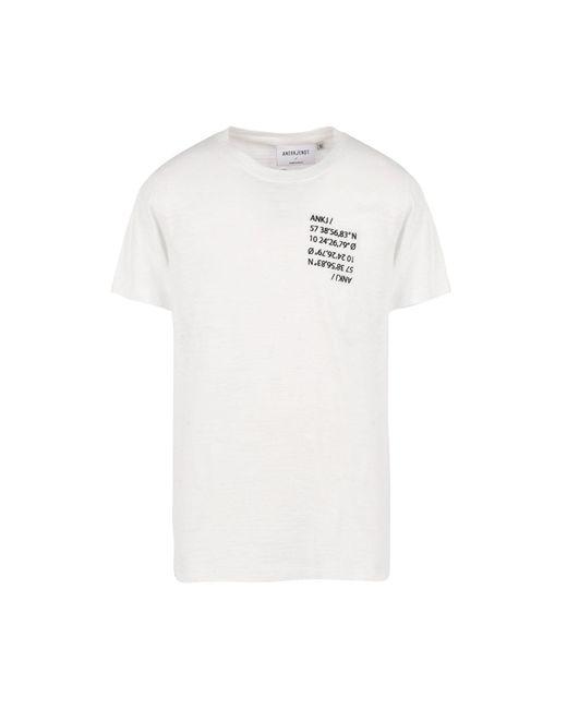 Anerkjendt - White T-shirt for Men - Lyst