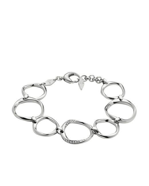 Fossil   Metallic Bracelet   Lyst
