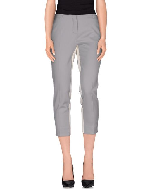 Schumacher - Gray Casual Pants - Lyst