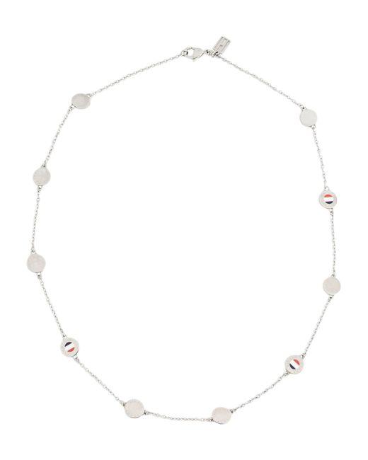 Tommy Hilfiger - Metallic Necklace - Lyst