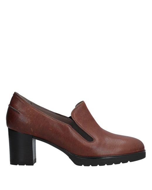 JUST MELLUSO - Brown Loafer - Lyst