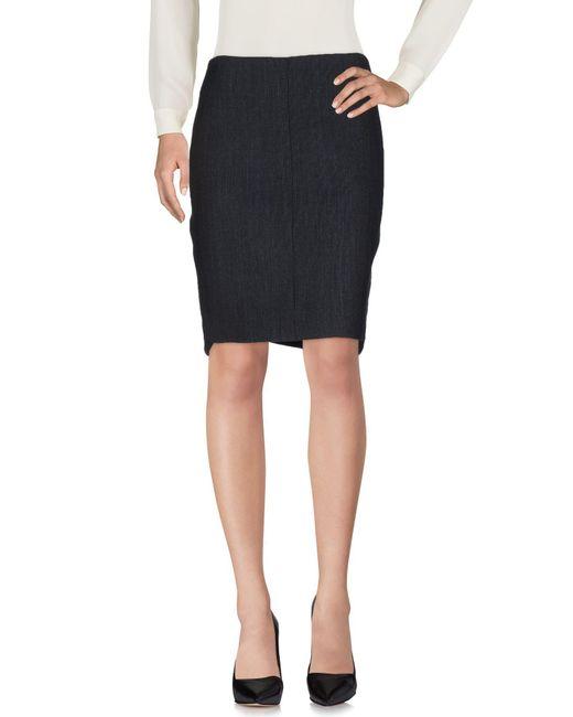 Teresa Dainelli | Black Knee Length Skirt | Lyst