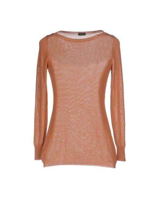 Zanone - Pink Sweater - Lyst