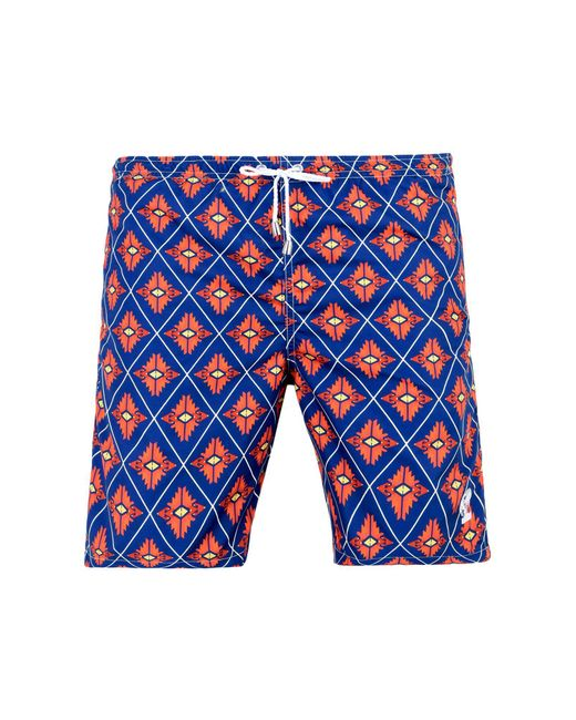 Mitchumm Industries - Blue Swimming Trunks for Men - Lyst
