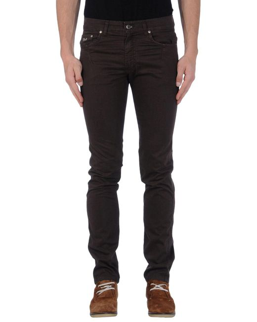 Harmont & Blaine - Brown Casual Pants for Men - Lyst