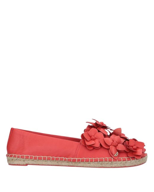 df6bf9c916d Tory Burch - Red Espadrilles - Lyst ...