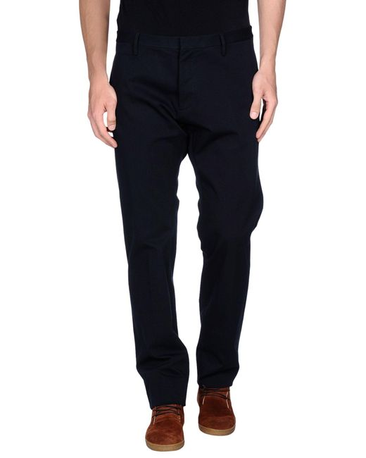 DSquared² - Black Casual Trouser for Men - Lyst