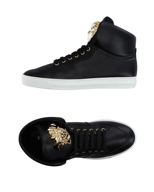 Versace - Black High-tops & Trainers for Men - Lyst