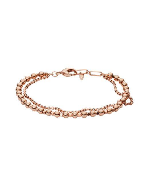 Fossil | Metallic Bracelets | Lyst