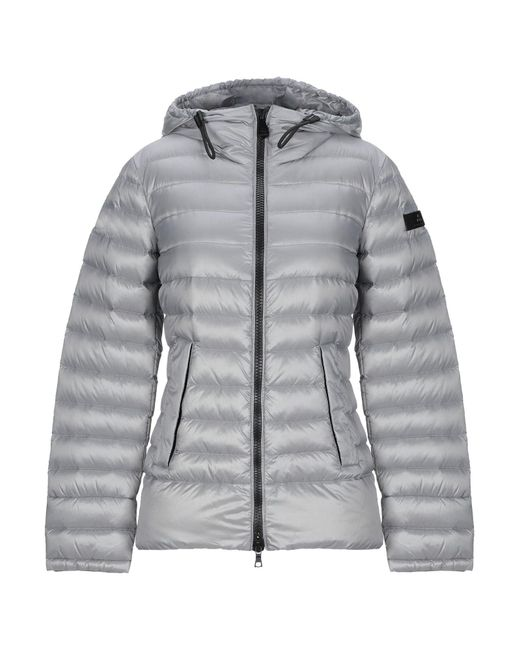 Peuterey - Gray Down Jacket - Lyst