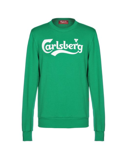 Carlsberg - Green Sweatshirt for Men - Lyst