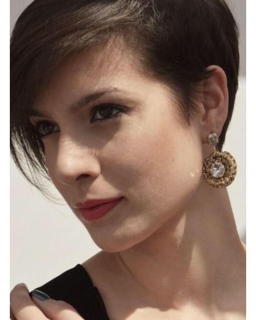 RDLux | Metallic Bahia Earrings | Lyst