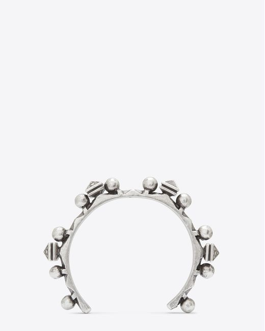 Saint Laurent - Metallic Bracelets - Lyst