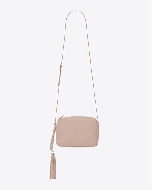 Saint Laurent - Pink Camera Bag - Lyst