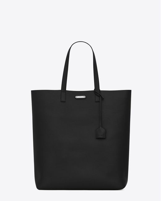 Saint Laurent | Bold Tote Bag In Black Leather | Lyst