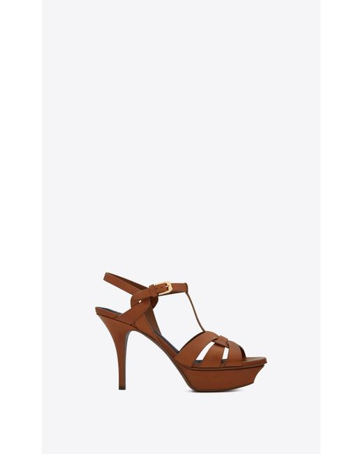 e71f40769e Women's Brown Tribute Sandal In Smooth Leather