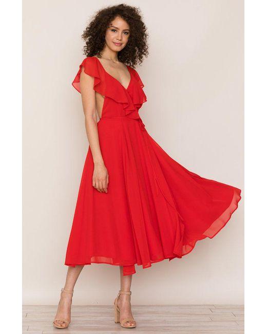 Yumi Kim - Red Bouquet Dress - Lyst