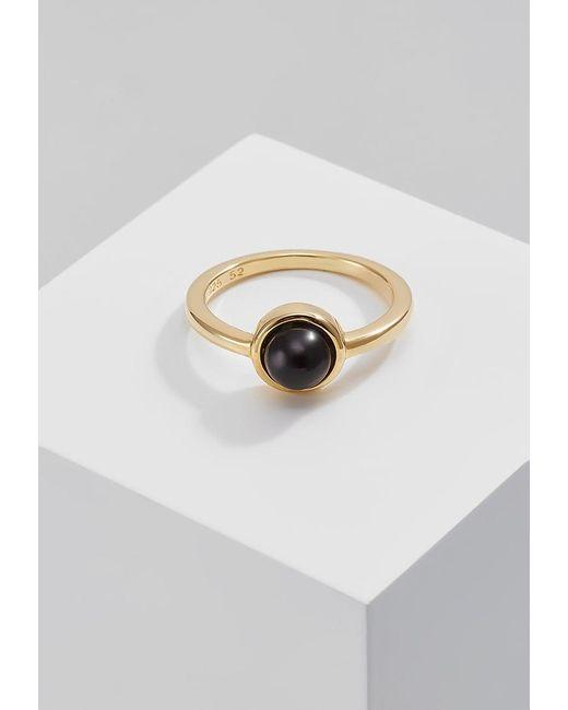 Dyrberg/Kern   Black Coupe Ring   Lyst