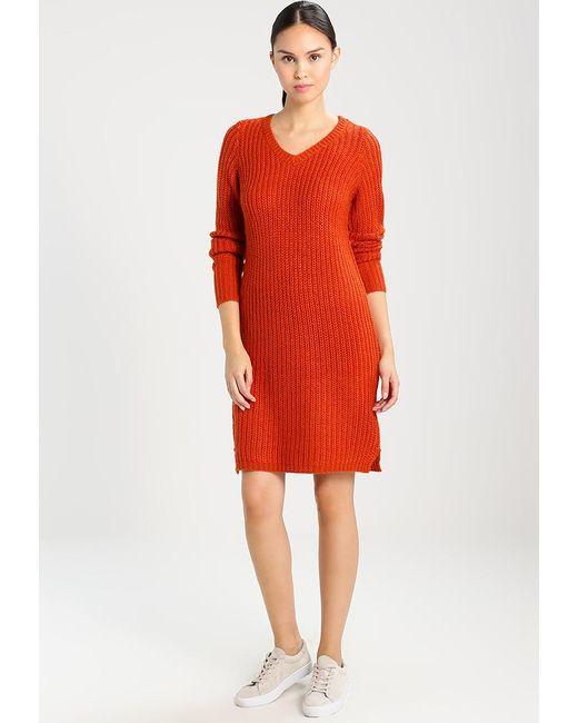 Vila   Brown Viview Jumper Dress   Lyst