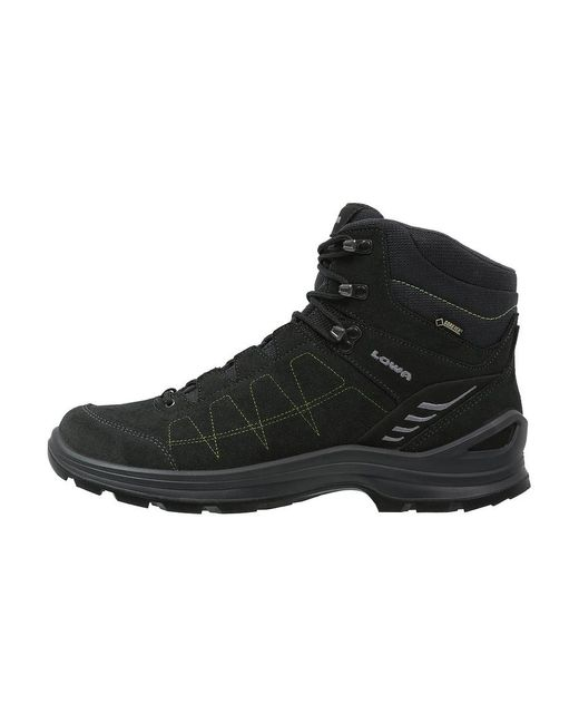 Lowa | Black Tiago Gtx Mid Walking Boots for Men | Lyst