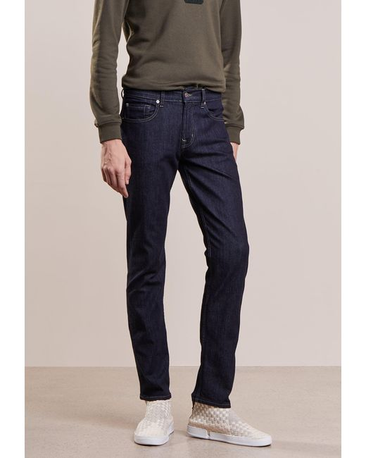 7 For All Mankind | Blue Nyrinse Slim Fit Jeans for Men | Lyst