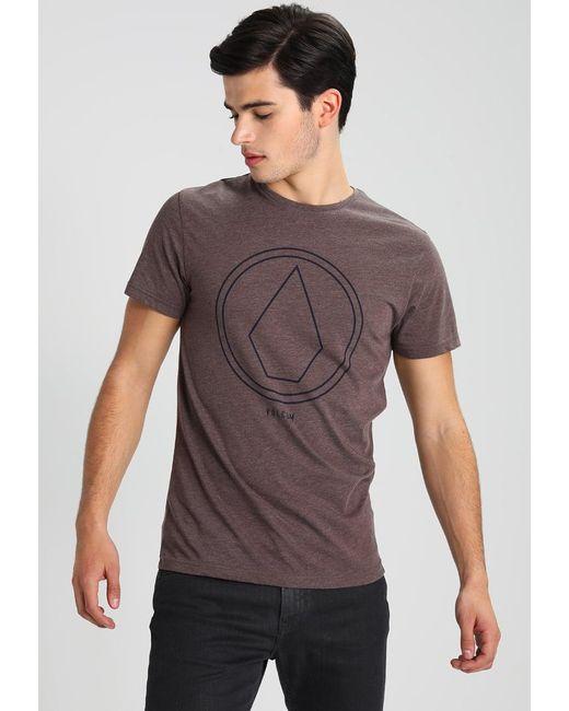 Volcom | Purple Pinline Stone Print T-shirt for Men | Lyst