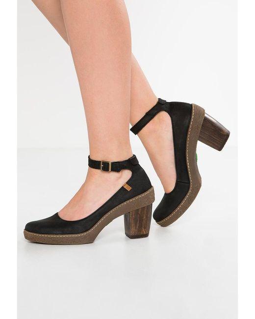 El Naturalista | Black Lichen High Heels | Lyst