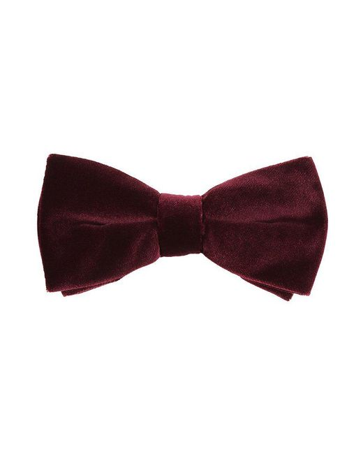 Eton of Sweden | Red Bow Tie for Men | Lyst