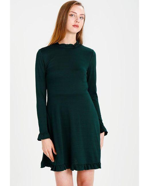 Vila   Green Cindy Jersey Dress   Lyst