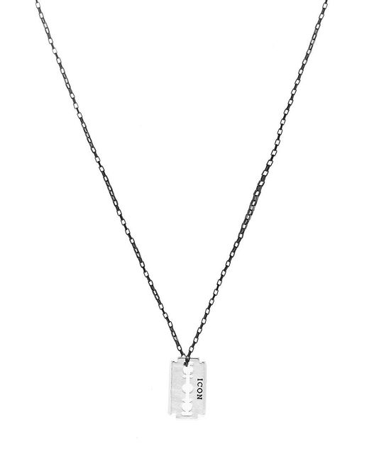 Icon Brand | Metallic Necklace for Men | Lyst