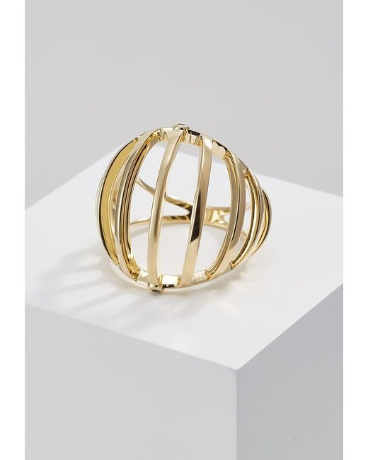 Elizabeth and James | Metallic Solin Ring | Lyst
