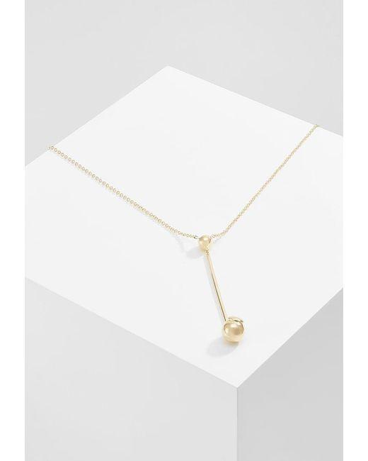 Elizabeth and James   Metallic Esser Pendant Necklace   Lyst