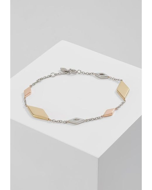 Fossil | Metallic Vintage Iconic Bracelet | Lyst